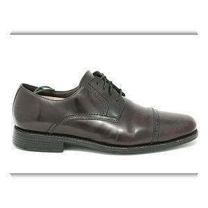 JOHNSTON MURPHY Brogue Cap Toe Derby Shoes